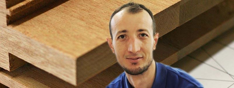 BENARD DUSHKU | Auszubildender im Tischlerhandwerk